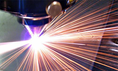 Лазерное гравирование матрицы на оргстекле